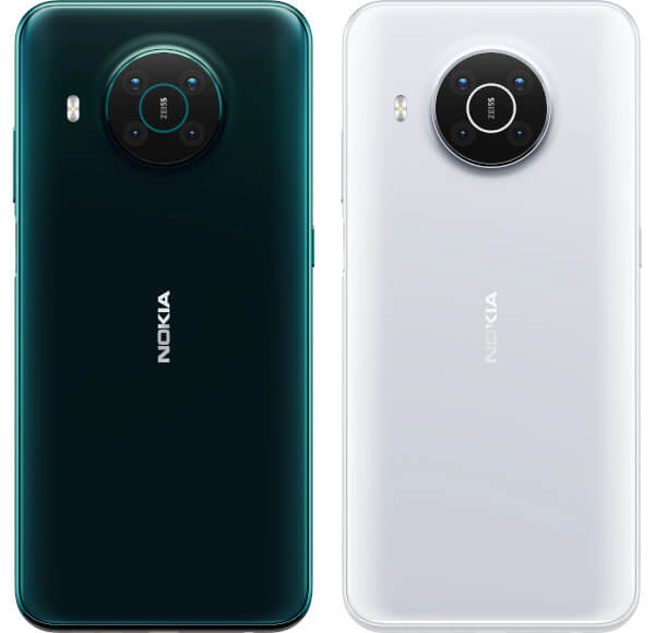 Nokia X10 rear