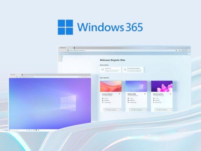 Windows 365 PC cloud service