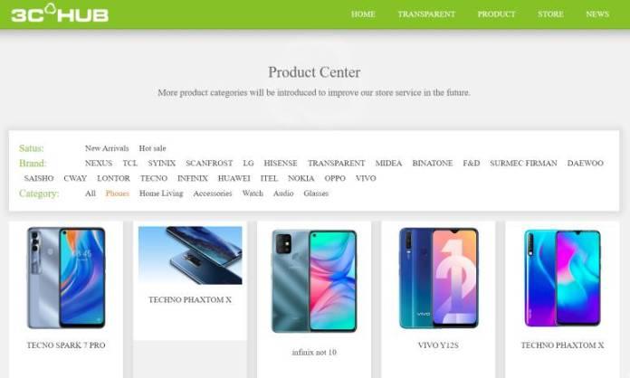 3c hub - online phone store in nigeria