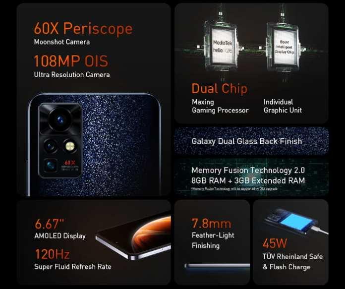 Infinix ZERO X Pro Specs