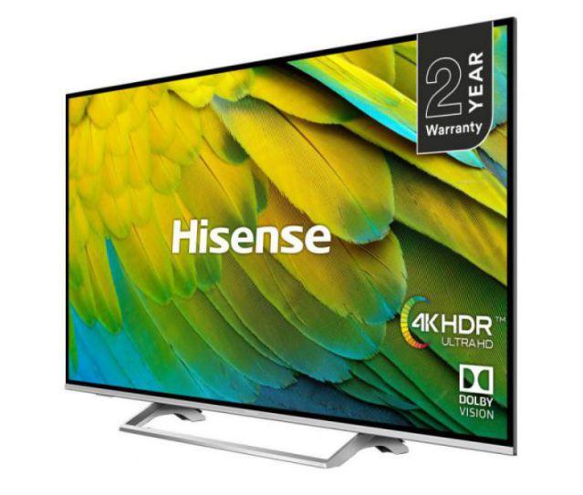 Hisense 55-Inch Curved UHD 4K Smart TV