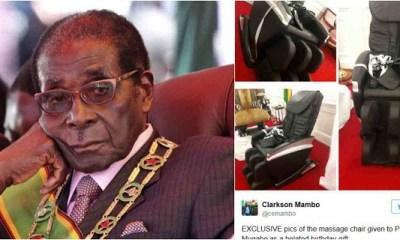 Mugabe chair