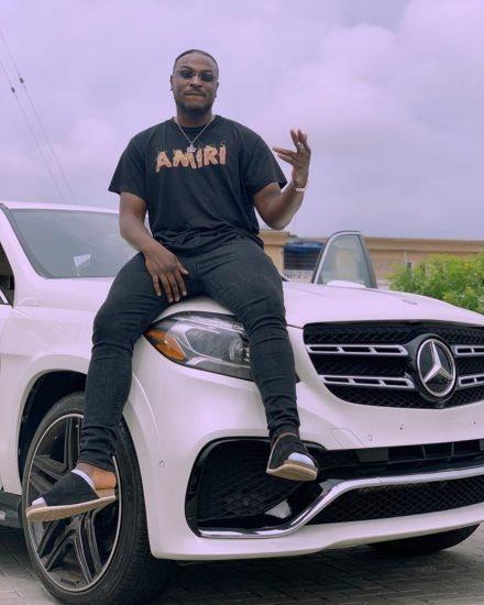 Singer Peruzzi acquires multi-million naira Mercedes Benz (photos)