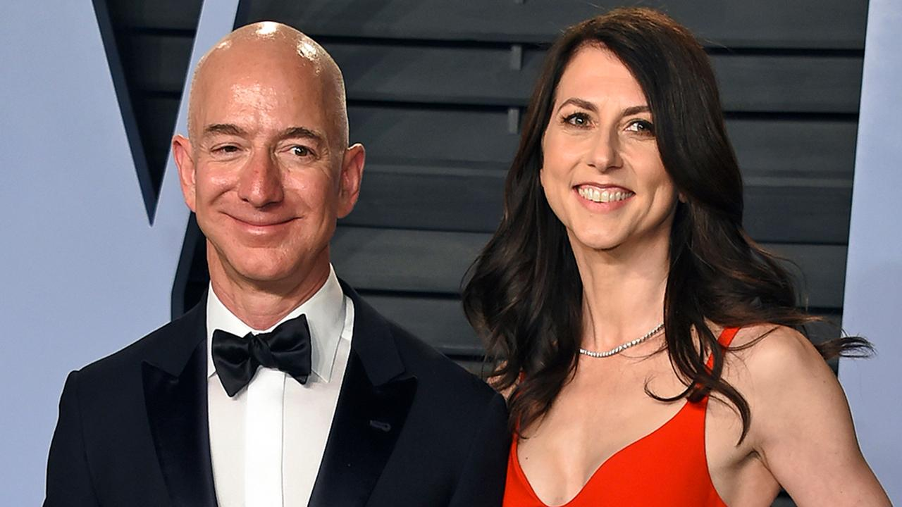 Jeff Bezos' ex-wife becomes 22nd richest person after getting N13.6 trillion from divorce