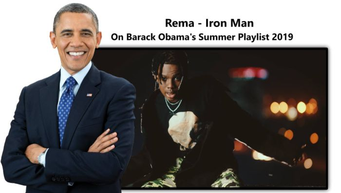 WOW!!! Rema Becomes The Only Nigerian Artiste On Ex- President Obama's Summer Music Playlist (See Full List)