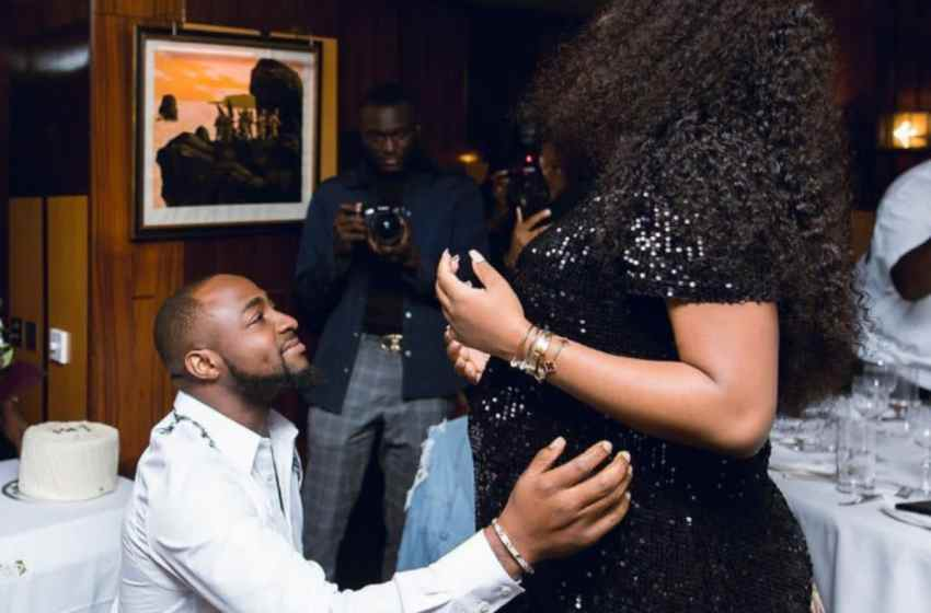 Davido finally confirms Chioma is pregnant with a baby Boy.