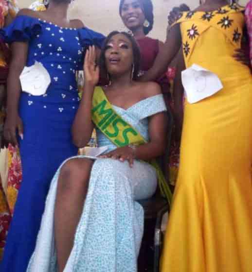Poly Ibadan gist: Oyefeso Toluwani crown Miss Olori 2019