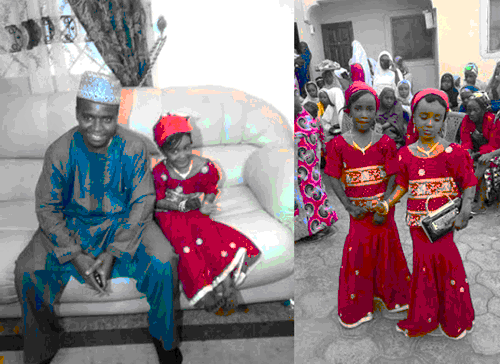 Man Marries 10 Year-Old Girl (See Pictures)