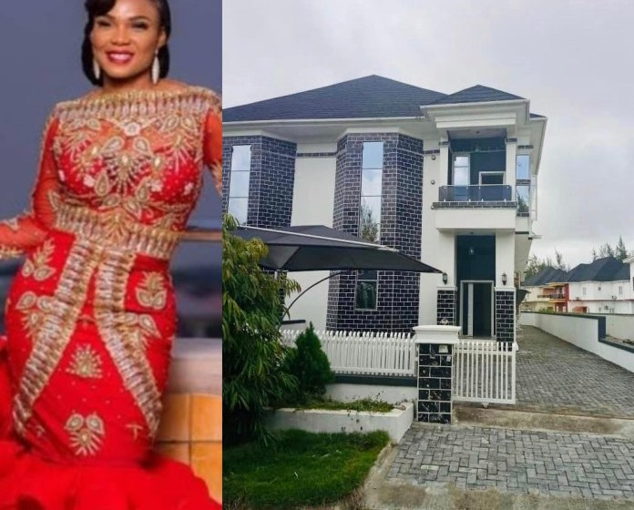 Iyabo Ojo Shares Video Of Herself Moving Into Her New House.[photos]