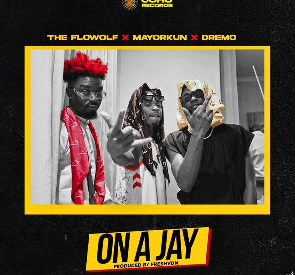DOWNLOAD The Flowolf ft. Mayorkun, Dremo – On A Jay MP3