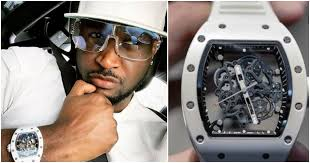 Fans SLAMS Peter Okoye for wearing fake Richard Mille wristwatch (photos)