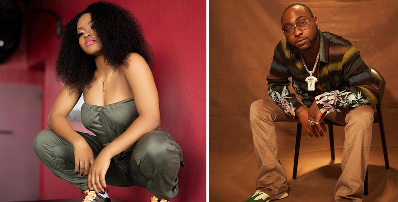 Davido,signs first female artiste to DMW [PHOTO]
