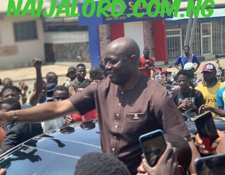 Oyo State Governor,Seyi Makinde Joins Protesters in Ibadan.