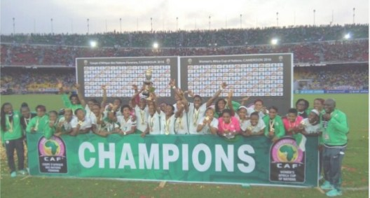 Champions of Africa Super Falcons