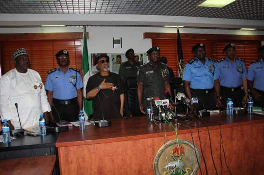 Nigerian Police Force Officers