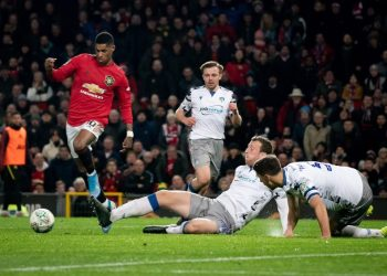 Rashford ready for another derby as United bangs past Colchester.