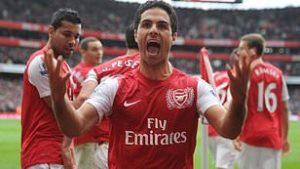 Mikel Arteta at Arsenal