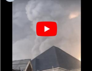 Massive pipeline Explosion in lagos [Full Video]