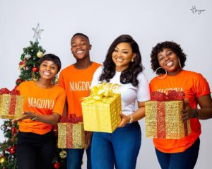 Watch Mercy Aigbe 2019 Christmas pictures below ⬇⬇