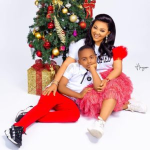 Mercy Aigbe Shares 2019 Christmas Pictures