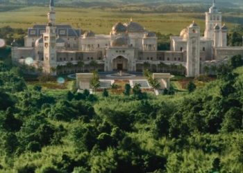 Zamundan Palace in 'Coming 2 America' is rapper Rick Ross' real-life house.