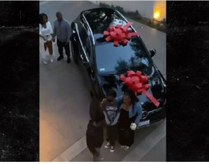 Kevin Hart gifts his daughter Heaven a new Mercedes-Benz for her sweet 16 birthday