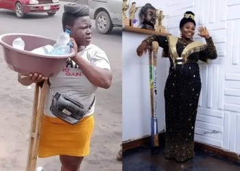 The fall of the popular Lagos amputee lady.