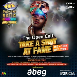 BBNaija schedules date for Auditions: see date and requirements below.