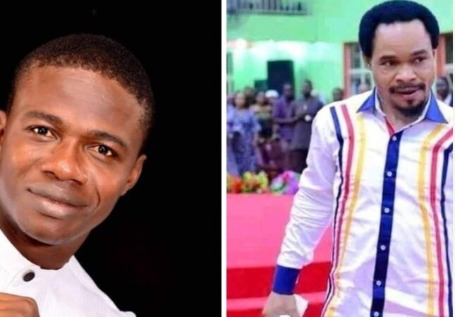 GHAN GHAN! Pastor Aloysius Challenges Odumejeje To A Spiritual Battle