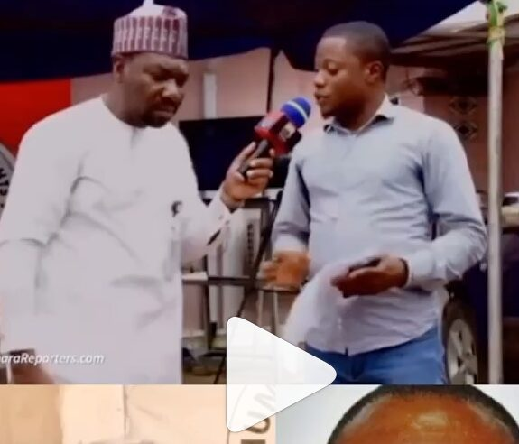 Ahmed Isah slaps a Man for Daring to Write People's Name Without his Permission