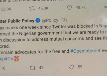 We're Ready To Negotiate With The Nigerian Government, Twitter Confirms