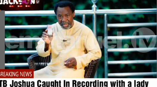 TB Joshua's Private AUDIO With Mistress Released
