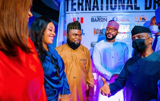 'The Silent Baron': Osinbajo Attends Premiere Of Nollywood Movie