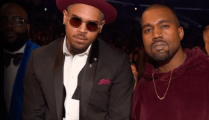 Kanye West Teases New Music With Chris Brown