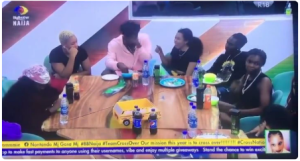 BBNaija: Reaction As Boma And Nini Spend More Time Together