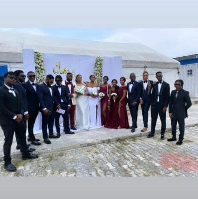 Skales Officially Ties The Knot With Fiancee