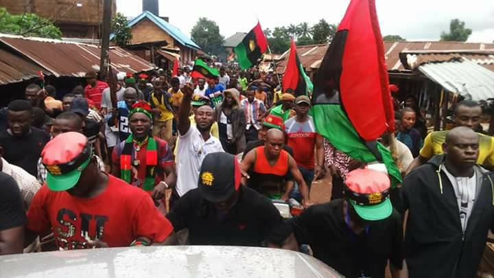 IPOB Declares Sit-at-home October 1, Orders Removal Of Nigerian Flags