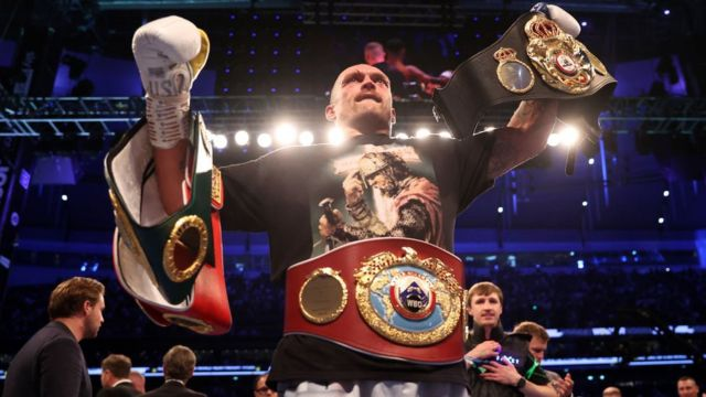 I Give Praise To Jesus Christ – Usyk Speaks After Beating Anthony Joshua