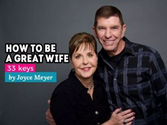 Joyce Meyer Marriage Advice
