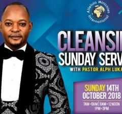 Cleansing Sunday Service With Pastor Alph Lukau