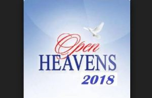 Open Heavens Daily Devotional For 14th October, 2018