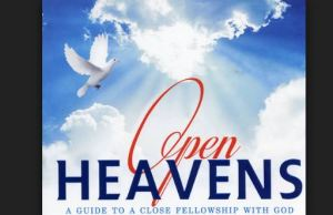 Open Heavens Daily Devotional Today 20th October