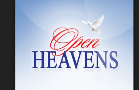 Open Heavens Daily Devotional Today 24th October