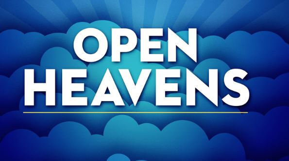 Open Heavens Daily Devotional Today 30th October
