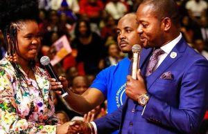 Pastor Alph Lukau teaching