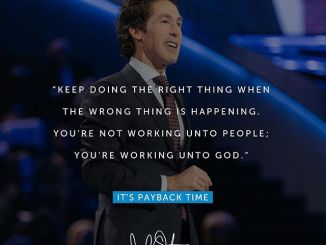 Joel Osteen Daily Devotional Today 7th December