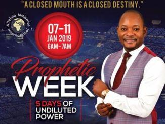 AMI Prophetic Week