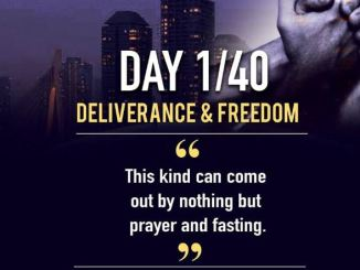Day 1 AMI 40 Days Of Prayer & Fasting