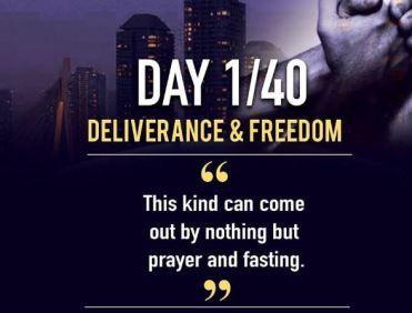 Day 1 AMI 40 Days Of Prayer & Fasting
