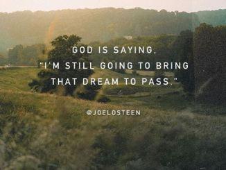 Joel Osteen Devotional 18th March